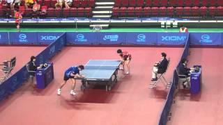 【動画】酒井明日翔 VS カルデラノ 2014年韓国オープン ベスト64