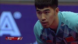 【動画】閻安 VS 尚坤 2017シーマスター2017年ハンガリーオープン 決勝