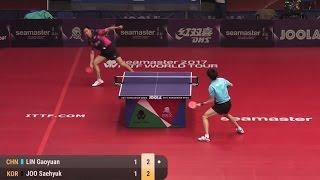 【動画】朱世赫 VS LIN Gaoyuan 2017シーマスター2017年ハンガリーオープン 準々決勝