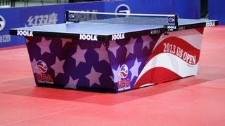 【動画】YANG Ce VS ワン・ユージーン 2013年全米オープン、アメリカチャレンジシリーズ 決勝