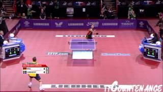 【動画】ティモ・ボル VS LUNDQVIST Jens LIEBHERR 2013年世界卓球選手権 ベスト32