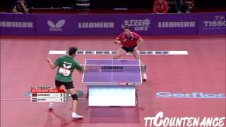 【動画】ブラディミル・サムソノフ VS ガシナ LIEBHERR 2013年世界卓球選手権 ベスト32