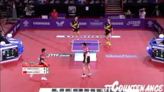 【動画】陳建安・荘智淵 VS 王励勤・ZHOU Yu LIEBHERR 2013年世界卓球選手権 準決勝
