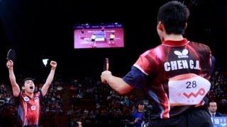 【動画】郝帥・馬琳 VS 陳建安・荘智淵 LIEBHERR 2013年世界卓球選手権 決勝