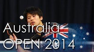 【動画】ヤン・ツー VS 酒井明日翔 2014年Ozcareオーストラリアオープン 準々決勝