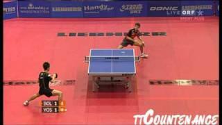 【動画】ティモ・ボル VS 吉田海偉 LIEBHERR 2010年オーストリアオープン -  ITTFプロツアー 準々決勝