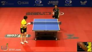 【動画】平野早矢香 VS 朱雨玲 2013年ロシアオープン、メジャーシリーズ ベスト16