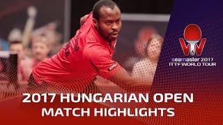 【動画】アルナ VS フィルス 2017シーマスター2017年ハンガリーオープン 準々決勝