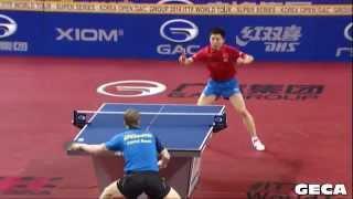 【動画】方博 VS BAUM Patrick 2014年韓国オープン 準決勝