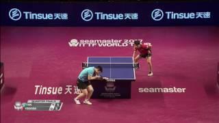 【動画】吉田雅己 VS 樊振東 2017シーマスター2017年プラチナ、カタールオープン 準々決勝