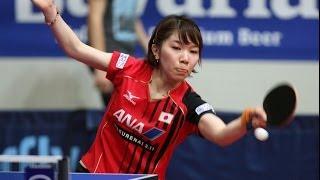 【動画】YANG Xiaoxin VS 若宮三紗子 2014年クロアチア 決勝