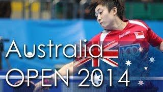 【動画】阿部愛莉 VS フォン・ティエンウェイ 2014年Ozcareオーストラリアオープン 準々決勝