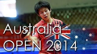 【動画】酒井明日翔 VS ZHAN Jian 2014年Ozcareオーストラリアオープン 準決勝