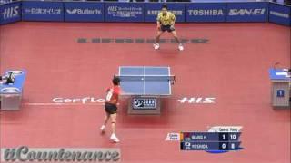 【動画】王皓 VS 吉田海偉 HIS 2009年の世界卓球選手権大会 準々決勝