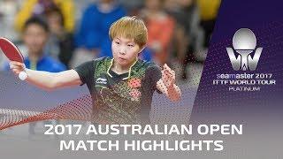 【動画】朱雨玲 VS 加藤美優 2017シマスター2017 プラチナ、オーストラリアンオープン ベスト16