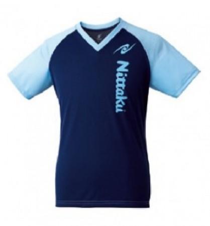 VネックTシャツ-Ⅲ(ブルー)
