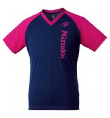 VネックTシャツ-Ⅲ(ピンク)