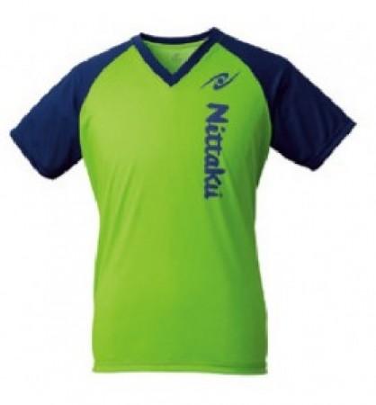 VネックTシャツ-Ⅲ(ライトグリーン)
