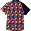 カラフル トライアングル レディースゲームシャツ